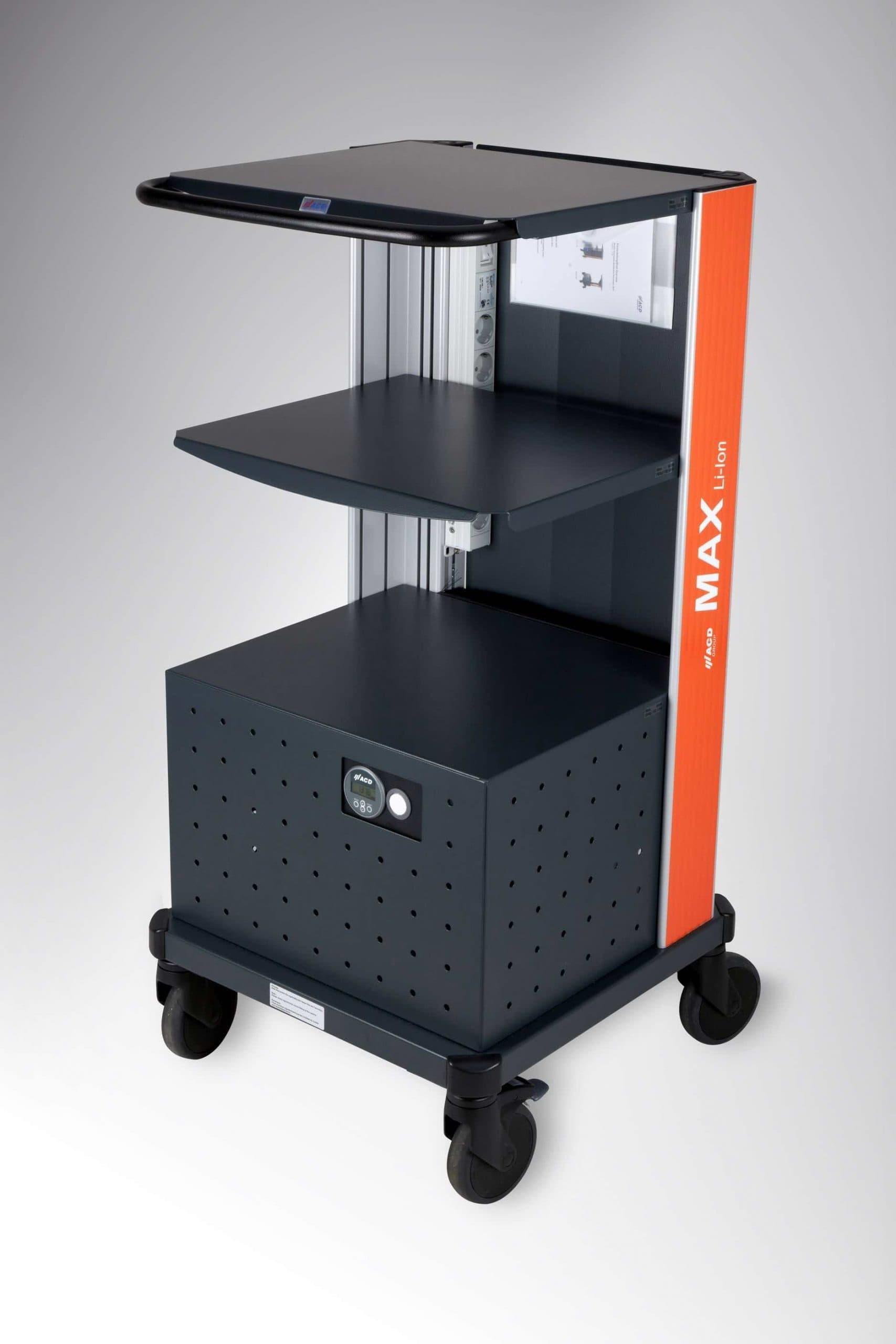 Warehouse Battery Powered Mobile Workstation MAX Li-Ion US