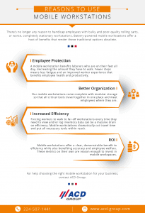 Reasons to Use Mobile Workstations infographic