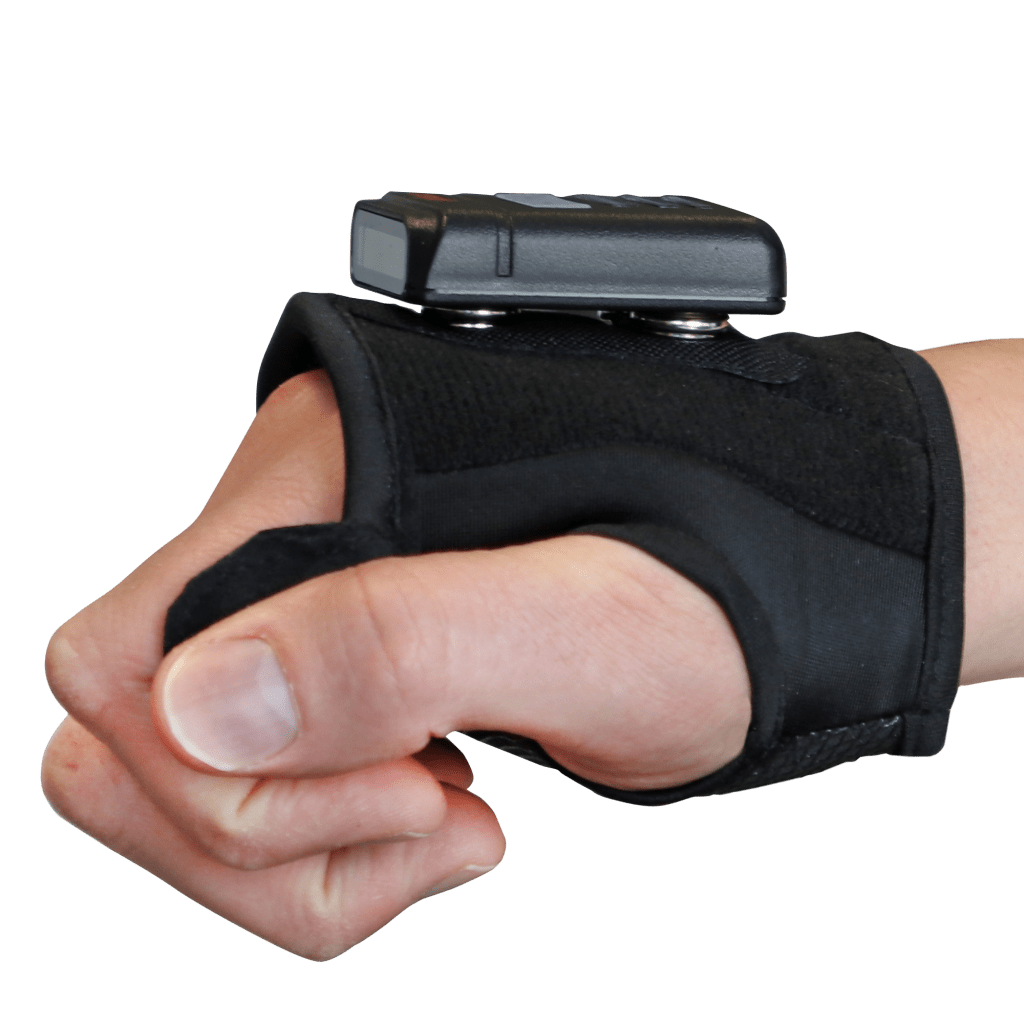 backhand scanner hasciSE with hand cuff