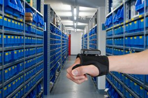 Wrist scanner HasciSE for logistics applications