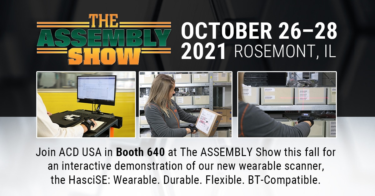 ACD USA at ASSEMBLY Show 2021